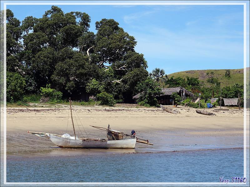 Débarquement sur la plage d'Ambaramidada - Grande Mitsio - Madagascar