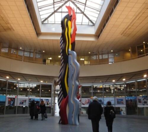 Lichtenstein BRUSHSTROKE Caisse Dépôts Consignations 8