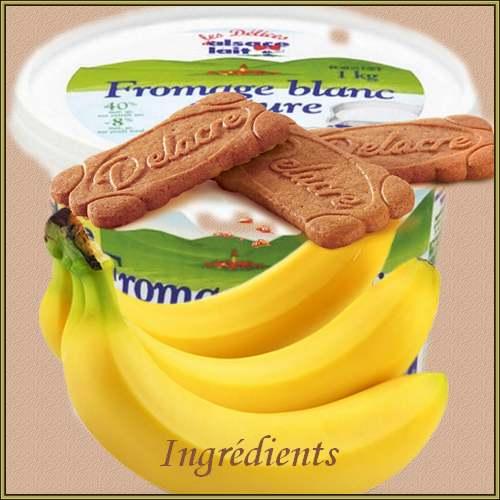 Recette de cuisine : Coupe de banane spéculoos