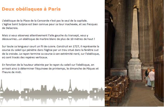 5A-  (Anecdotes insolites sur Paris)