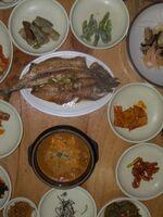 A comida coreana