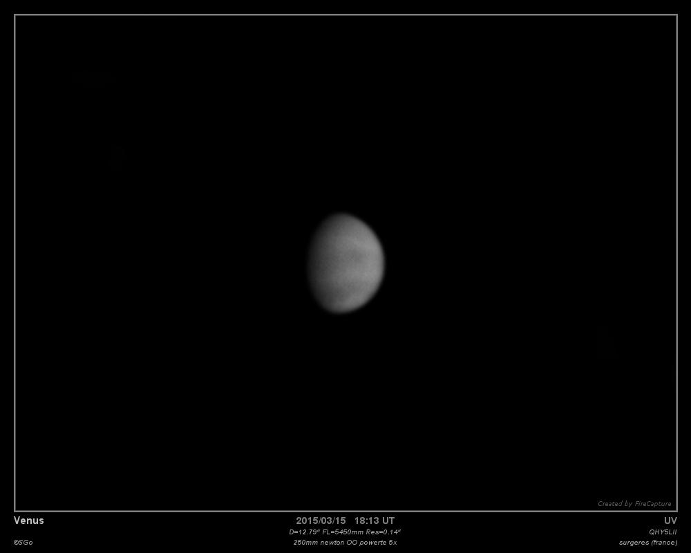Venus le 15mars