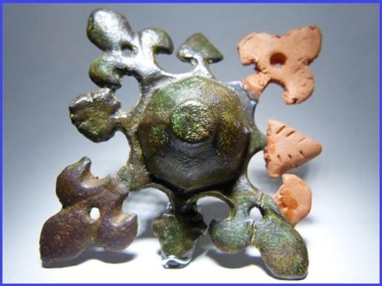 nettoyage vert de gris bronze
