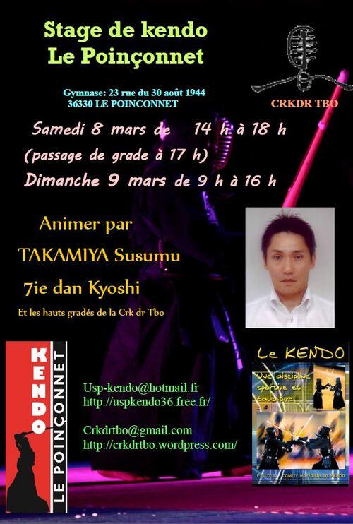 Stage régional Kendo expert japonais
