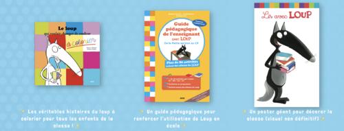 Kit pédagogique le Loup gratuit