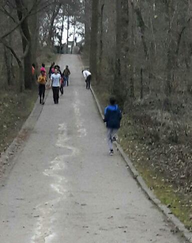 ASFI: entraînement au Parc de Sceaux pour les jeunes de l'ASFI!