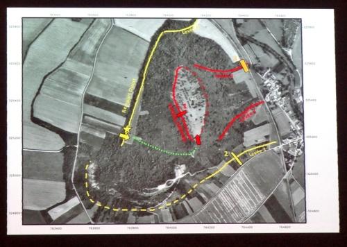 Communication sur les fouilles du Mont Lassois, par Bruno Chaume, président de la S.A.H.C