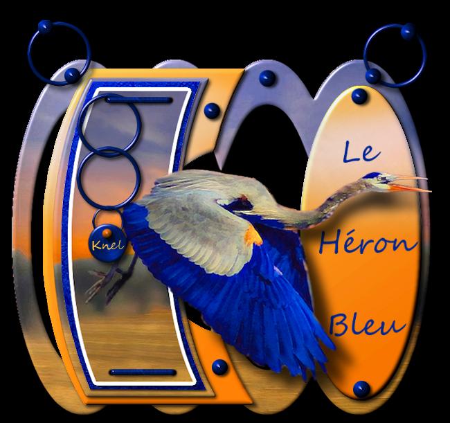 """""""Le héron bleu"""""""
