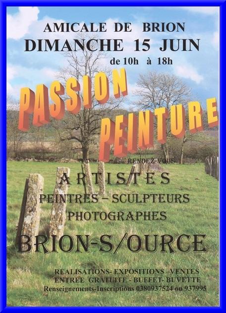 Passion Peinture à Brion sur Ource le