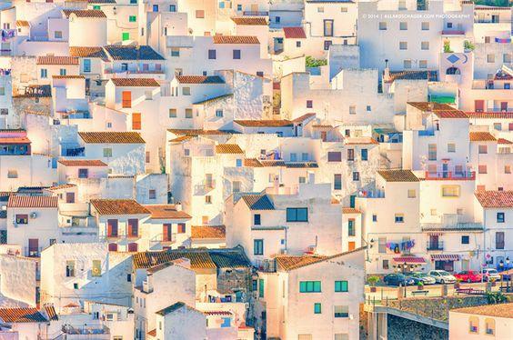 Casares, Malaga - Andalousie (Espagne)