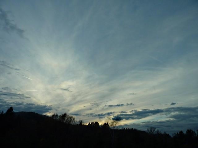 Ciel d'automne dans l'Est 15 mp1357 2010