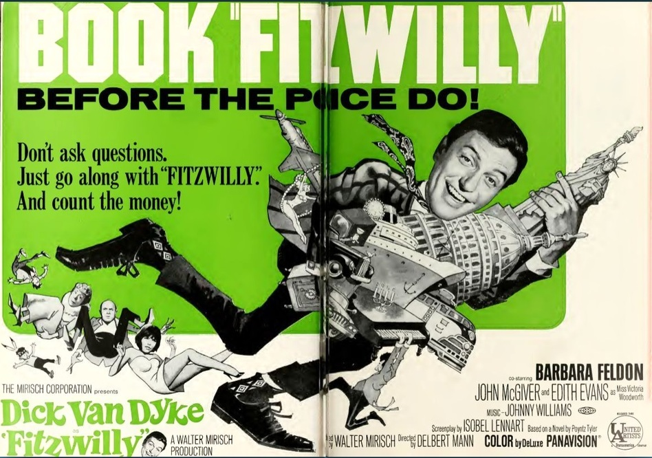 FITZWILLY box office usa 1967