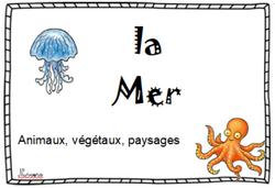 Lexique - la mer