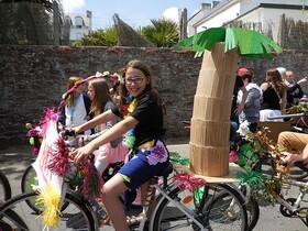 Des Vélos bien colorés