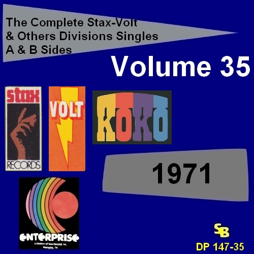 """ The Complete Stax-Volt Singles A & B Sides Vol. 35 Stax & Volt Records & Others Divisions "" SB Records DP 147-35 [ FR ]"