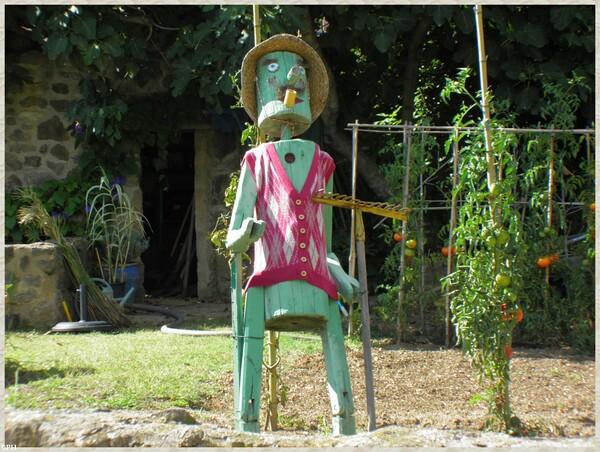 Au jardin de Saint Adrien