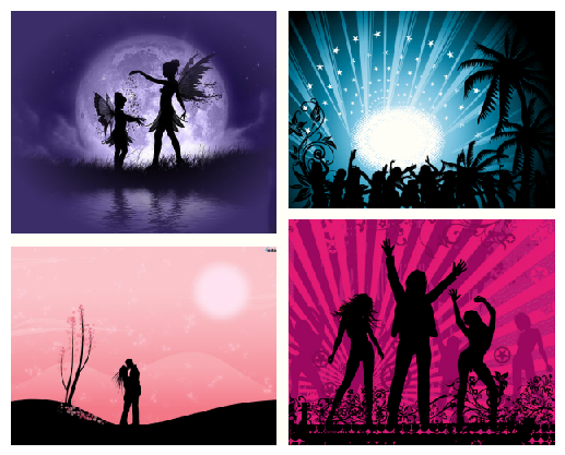 Silhouettes page 1