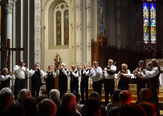 Strollad Kozh - Concert dans l'église de St Jean de Bournay