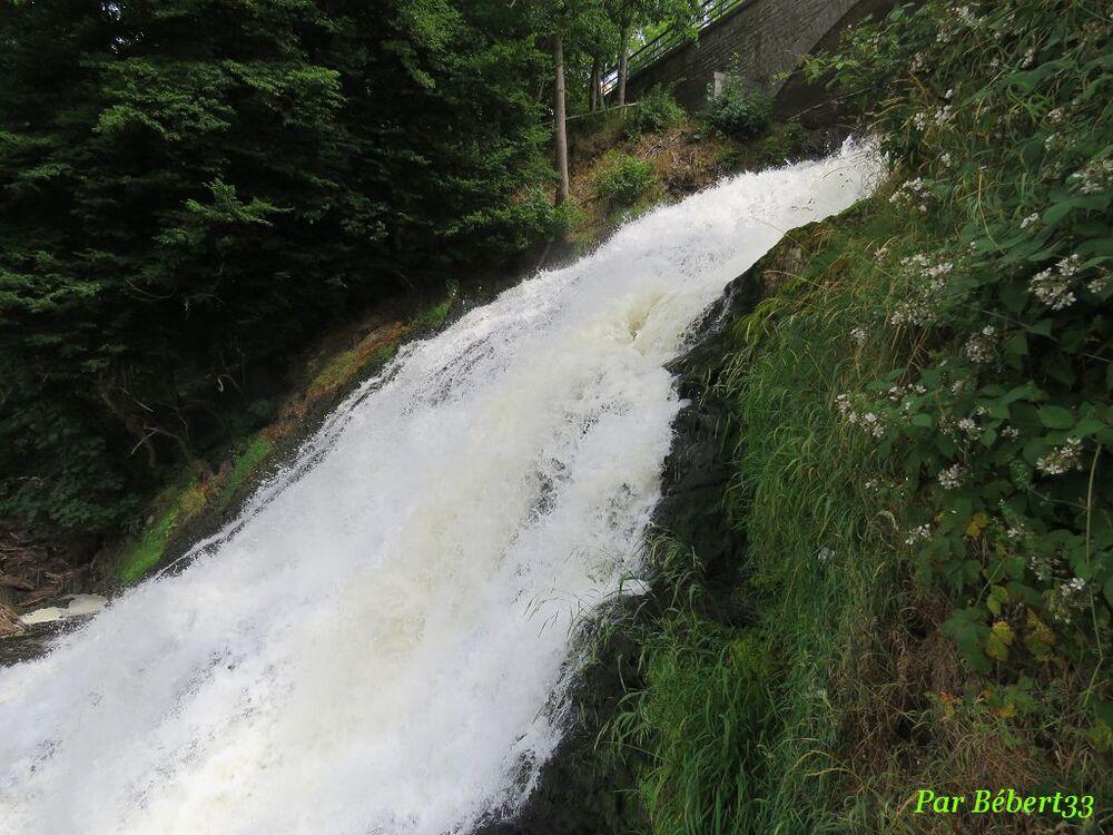 Cascade de Coo en Belgique