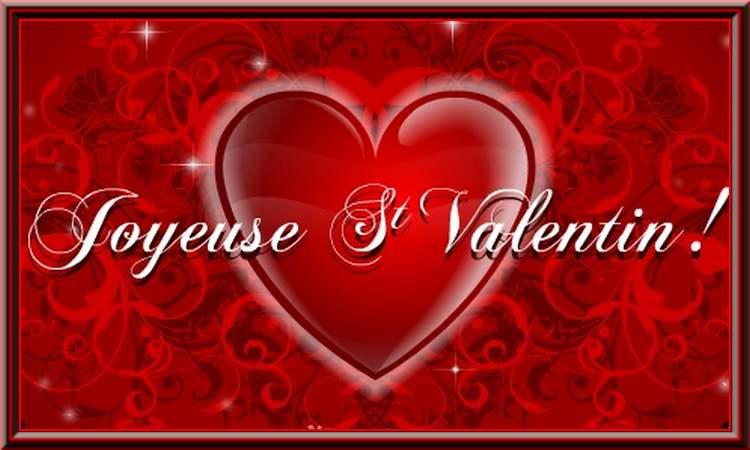 14 février  : c'est la fête des amoureux