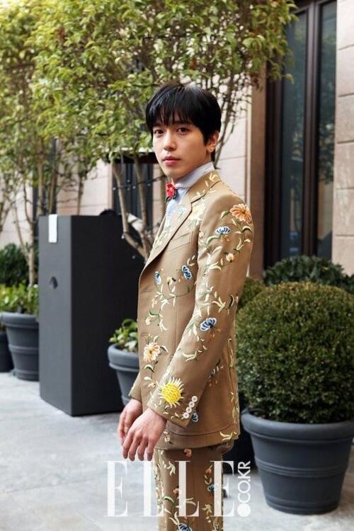 Jung Yong Hwa pour Elle