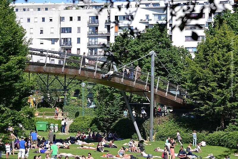 Le Jardin de Reuilly-Paul Pernin, Paris 12ème