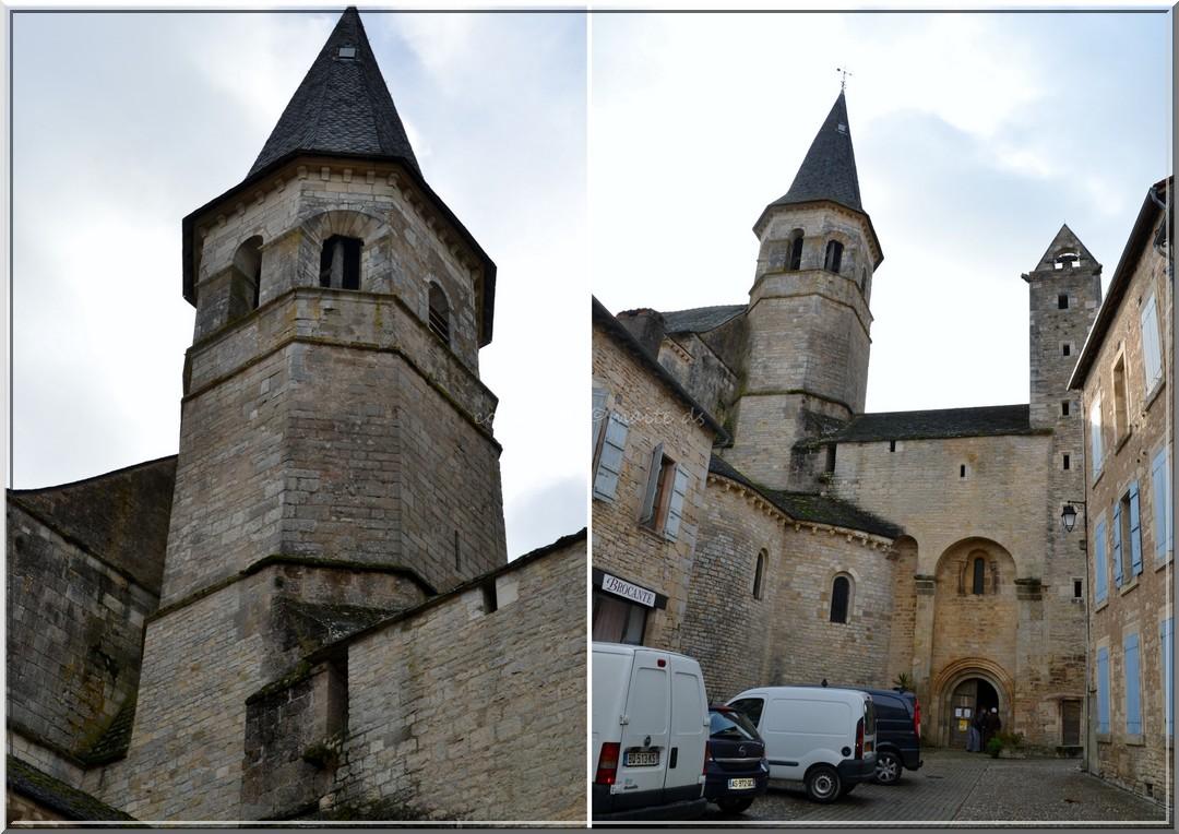 Eglise Saint-Sépulcre Villeneuve - Aveyron (1)