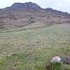 Ancienne petite borne avec croix gravée (599 m)