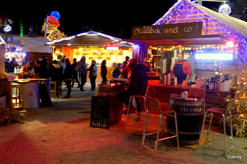 Barcarès: village de Noël de nuit ... n2