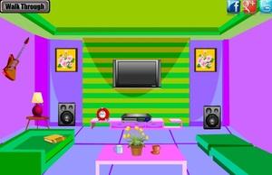 Jouer à Color music room escape