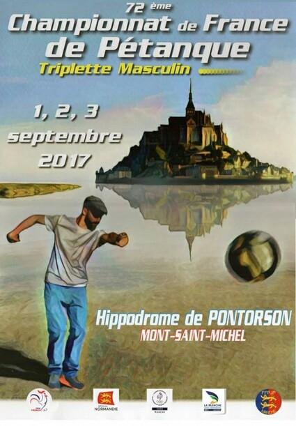 Championnat de France Triplette Senior