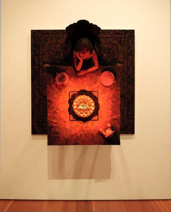 Shintaro Ohata et ses peintures à l'illusion 3D