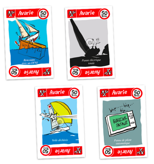 """Le nouveau jeu de cartes """"Milles nautiques"""""""