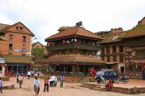 un ancien temple de Bhaktapur