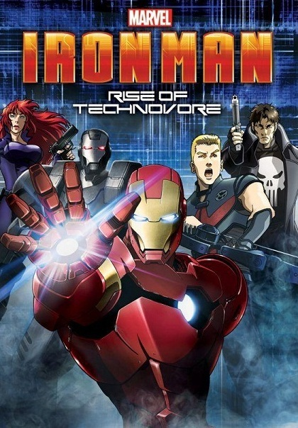 Iron Man : L'attaque des Technovores (2013) [DVDRIP FR] - 1CD