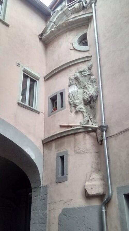 Vienne. La commanderie des Antonins.