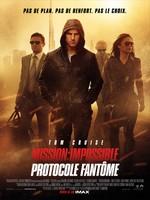 Mission impossible Protocole Fantome affiche