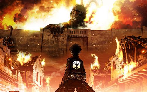 Shingeki No Kyojin (l'attaque des Titans)