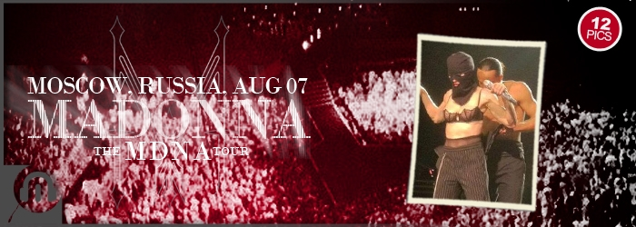 The MDNA Tour - Moscow - Pictures