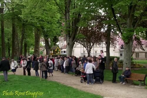La cérémonie du 8 mai 2013 à Châtillon sur Seine...