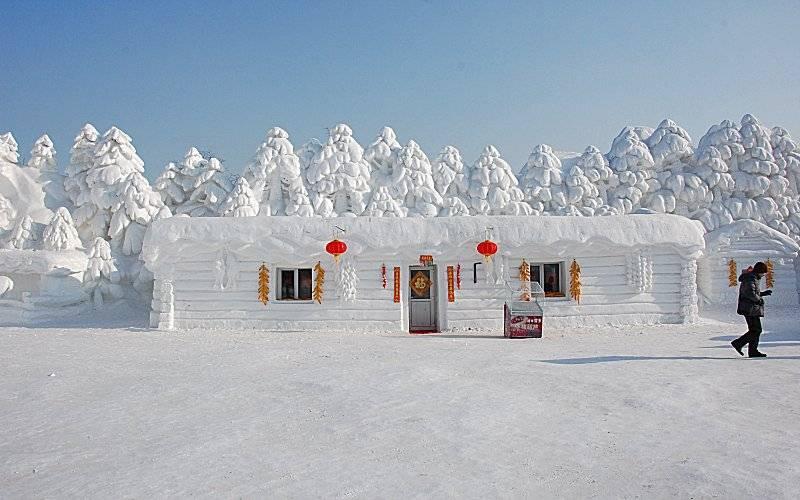 Résultat d'images pour Festival international de la glace et de la neige de Harbin,