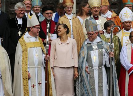 Victoria et l'évêque