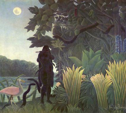 La charmeuse de serpent - Henri Rousseau