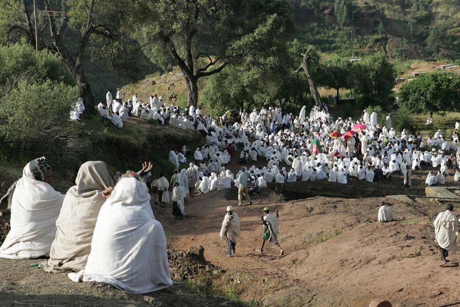 lalibela ethiopie eglise de dieu