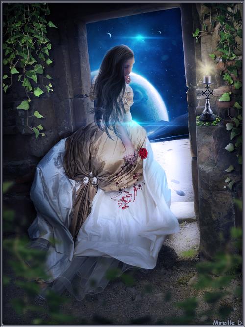 Photomontage Émotion d'un Amour Perdu