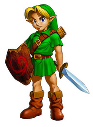 Young Link - <i>Ocarina of Time 3D</i>