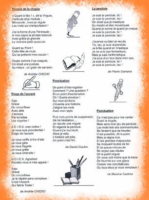 La Grammaire en poésies