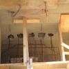 réalisation des coffrages pour l\'escalier béton 013