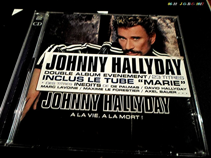 HOMMAGE  A  JOHNNY  HALLYDAY      D    07/12/2017