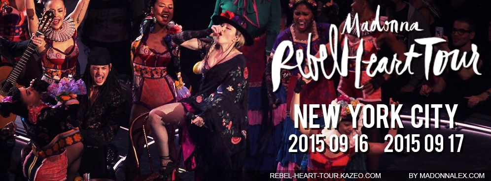 Madonna Rebel Heart Tour NYC